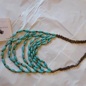 Noonday Collection Latifa beaded necklace, NWT